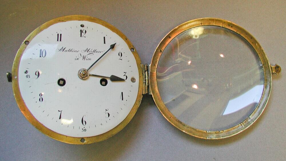Email-Zifferblatt einer Taschenuhr (ca. 1920)
