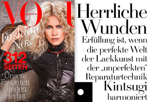 Quelle: VOGUE deutsch 9/2017