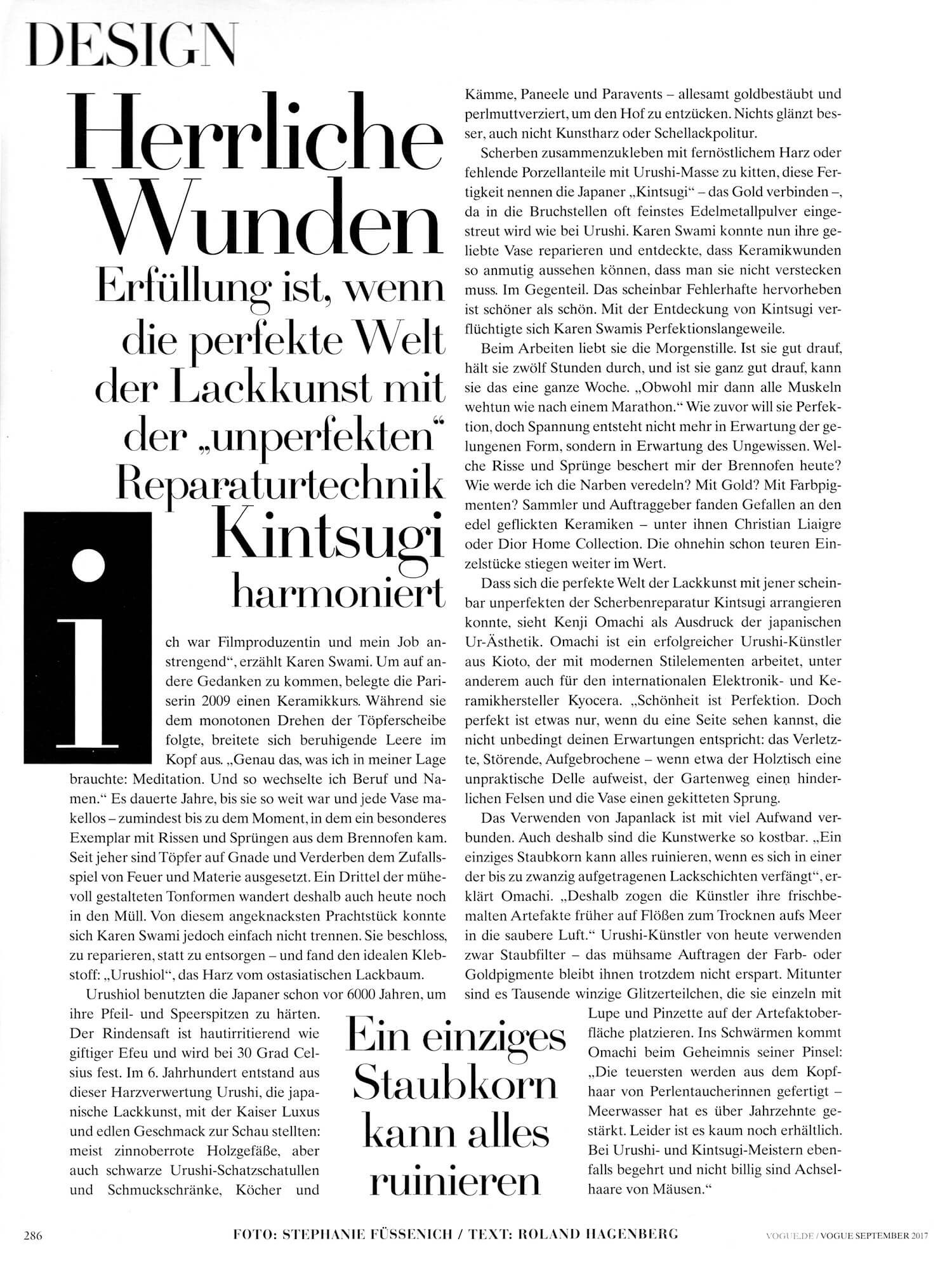Quelle: VOGUE deutsch 9/2017 September